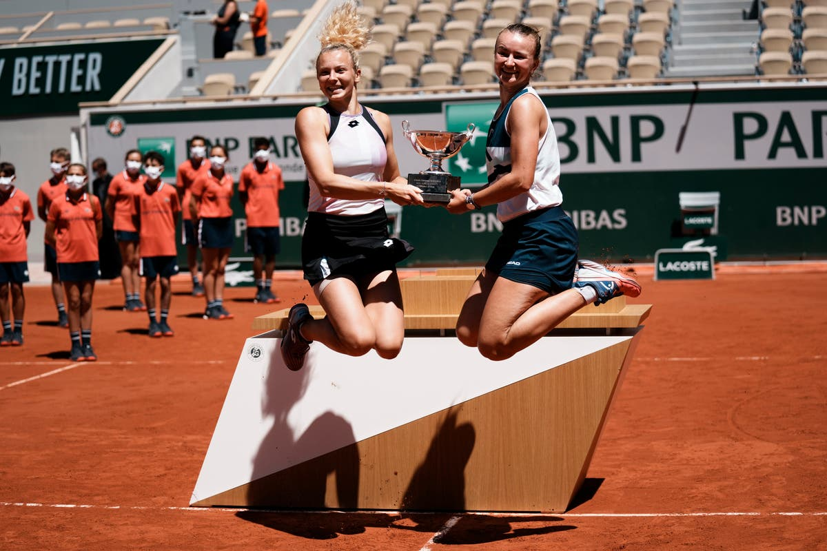 Barbora Krejcikova wraps up another success at Roland Garros