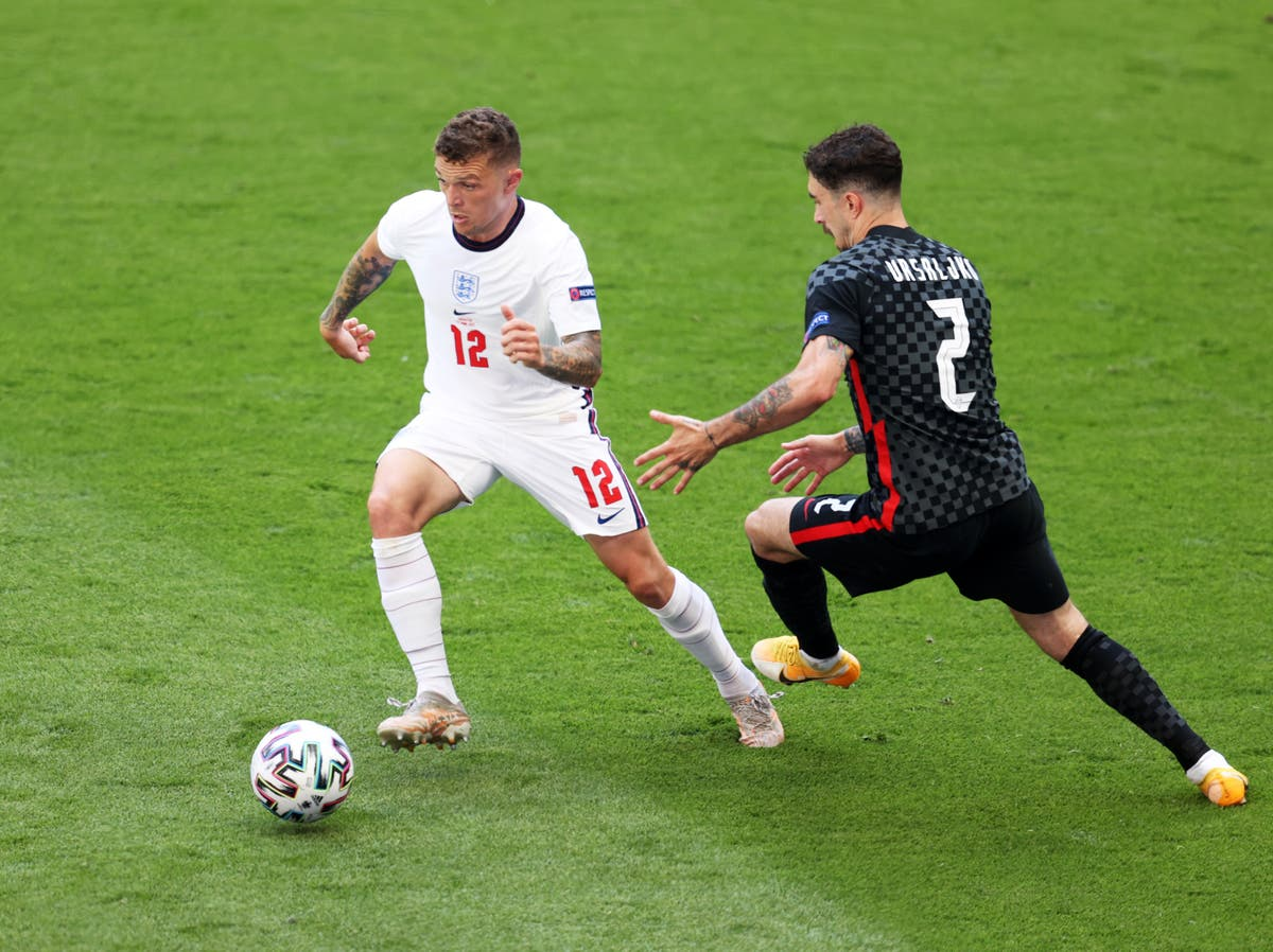 Kieran Trippier justifies start at left-back as England beat Croatia