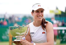 Johanna Konta ends long wait for home victory with Nottingham triumph
