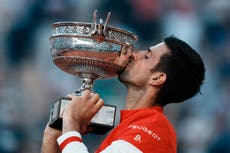 Everything is possible – Novak Djokovic chases Golden Slam after French Open win