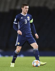 Andy Robertson out to keep Scotland smiling as they gear up for big-stage return