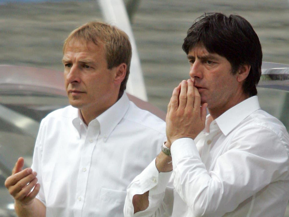 Joachim Low began his Germany journey with Jurgen Klinsmann but must finish it alone at Euro 2020