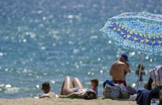 UK records hottest day of 2021 so far as temperatures hit 28.6C