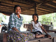 Helping female climate refugees escape trafficking