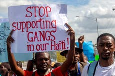 Report: Gang violence displaces thousands in Haiti's capital