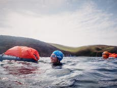 Why open-water adventurers should try 'cross-country swimming' in south Devon