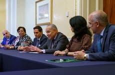 Senate Democrats press ahead on voting bill despite dim odds