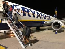 'Green list shambles' causing untold damage to UK tourism, says Ryanair