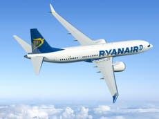 As Ryanair's first 737 Max arrives, passengers offered chance to switch planes