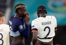 Antonio Rudiger: Germany defender cleared of biting Paul Pogba during Euro 2020 game