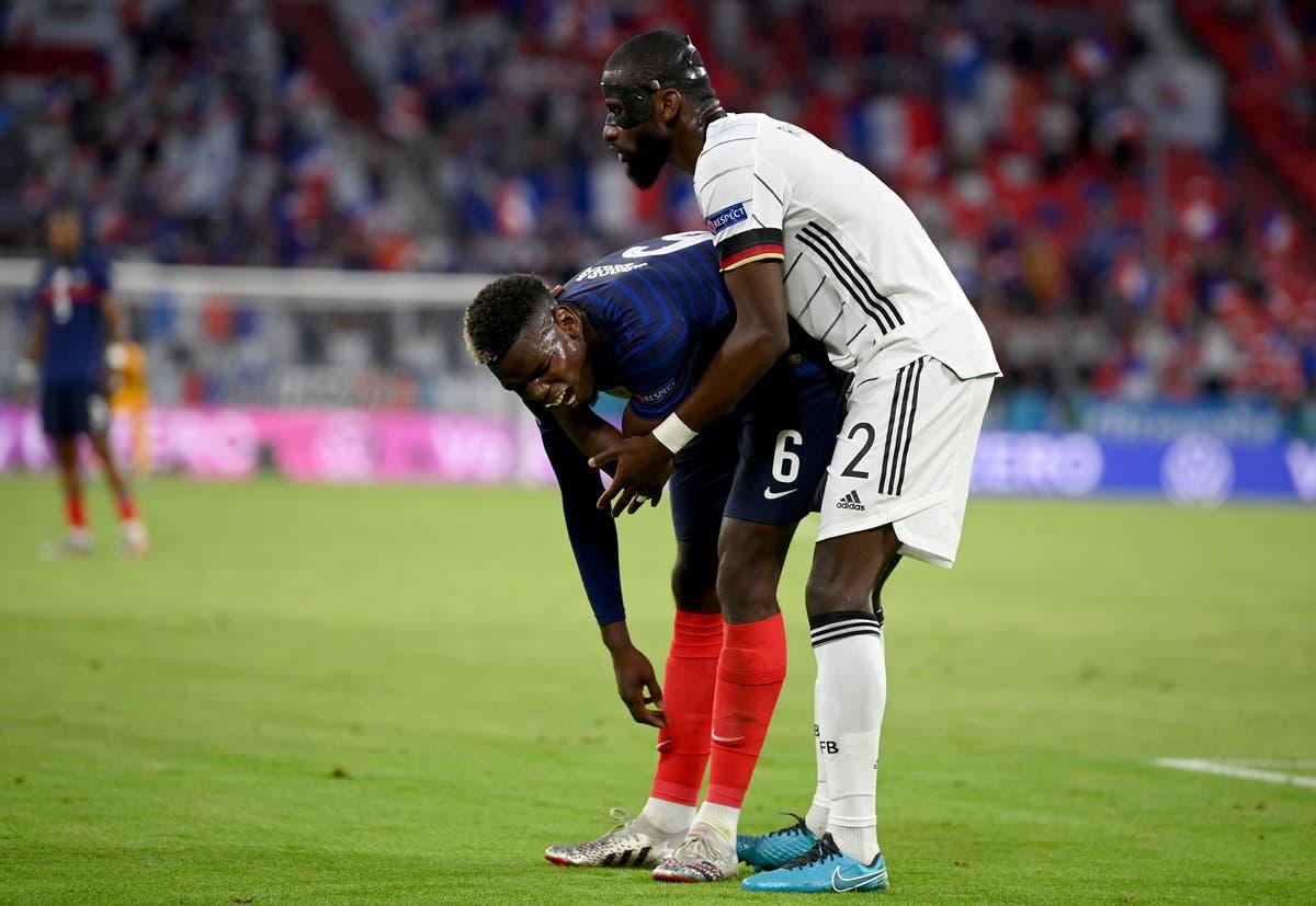 Antonio Rudiger denies biting Paul Pogba during France-Germany clash