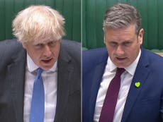 Boris Johnson is becoming unpopular again, which is Keir Starmer's chance to shine