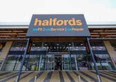 Halfords profits surge amid soaring sales of electric bikes and scooters