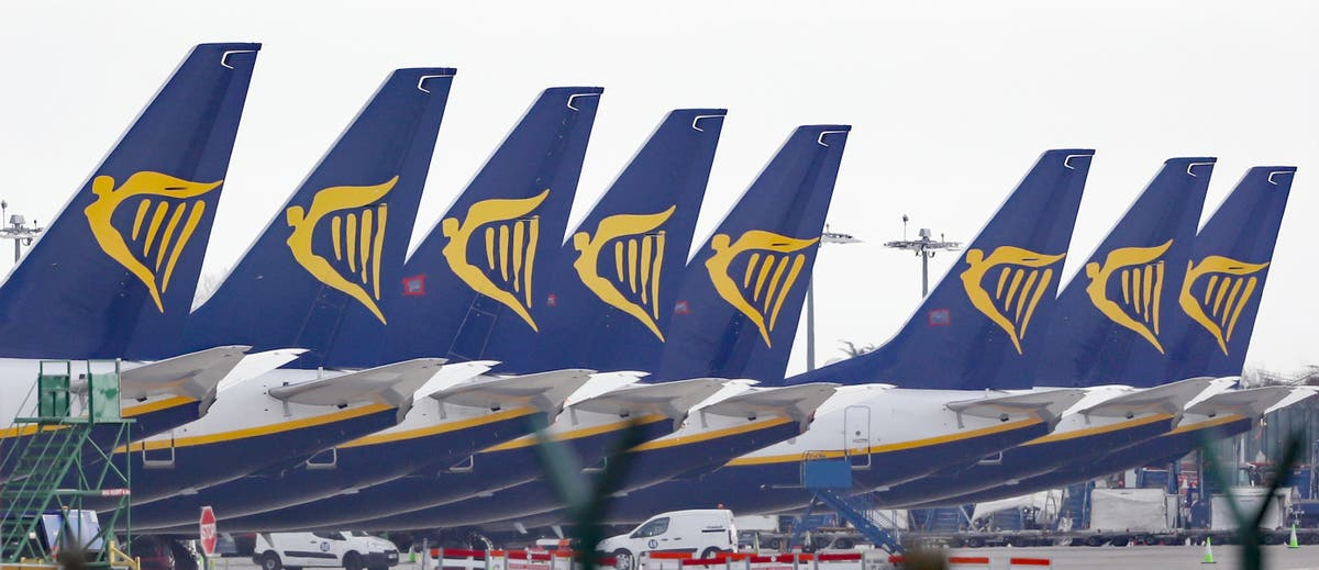 Ryanair and Manchester Airports Group take legal action over 'amber list'