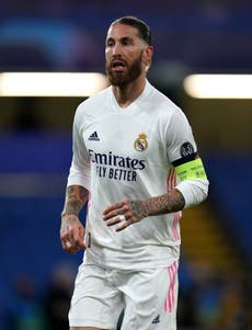 Sergio Ramos sheds tears at Real Madrid farewell press conference