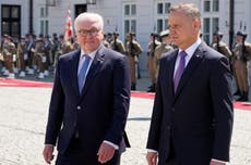 German, Polish presidents meet to celebrate 1991 treaty