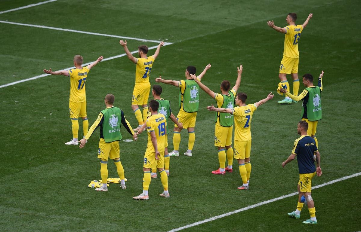 Andriy Shevchenko felt nervous as North Macedonia threatened Euro 2020 comeback