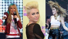 Miley Cyrus' beauty evolution as she's named the face of new Gucci perfume