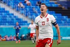 Spain looking to make life 'uncomfortable' for Poland star Robert Lewandowski