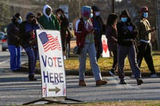 Georgia lists more than 100,000 people whose voter registrations could be cancelled