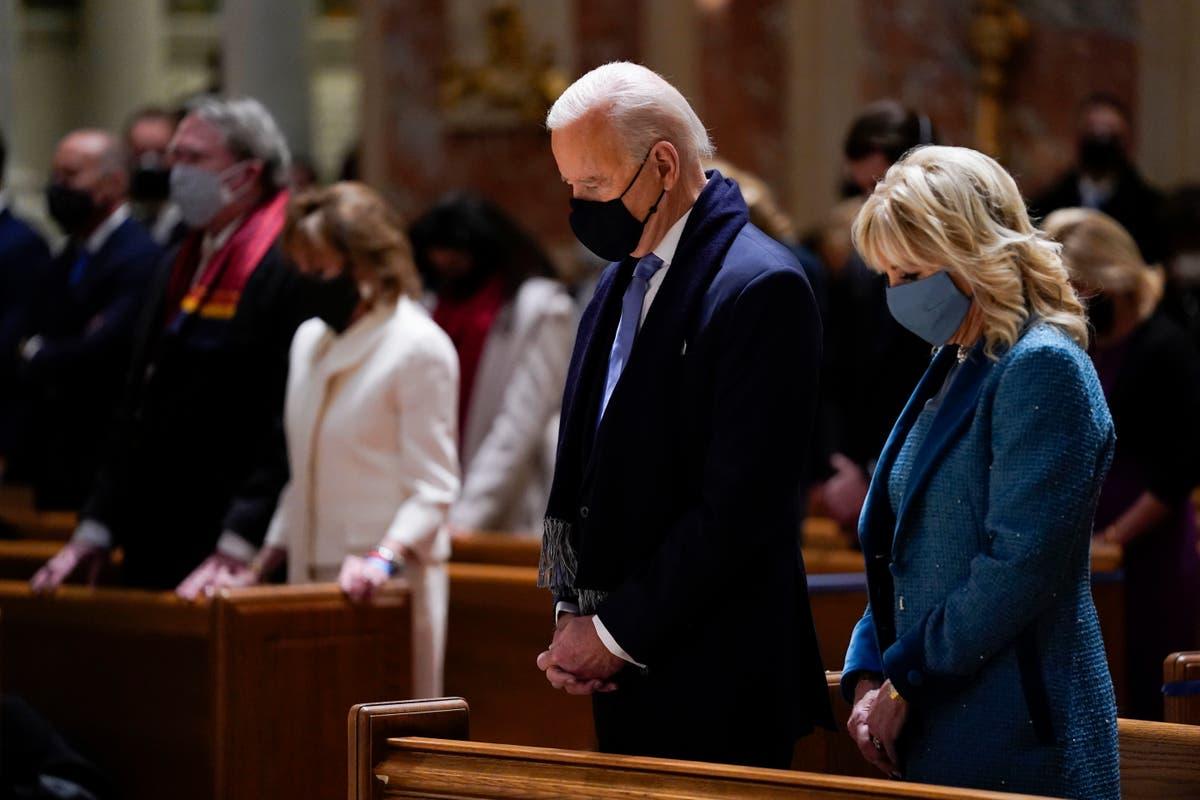Demokratiese kongreslid ontketen Katolieke biskoppe as 'huigelaars' omdat hulle Biden se nagmaal probeer ontken het