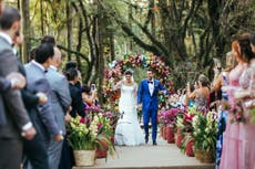 Outdoor civil weddings and partnerships get green light for first time