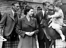 Queen marks Father's Day with photograph of her father King George VI and Prince Philip