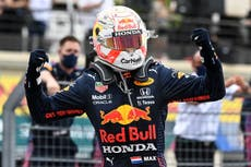 French Grand Prix: Max Verstappen passes Lewis Hamilton to win thriller