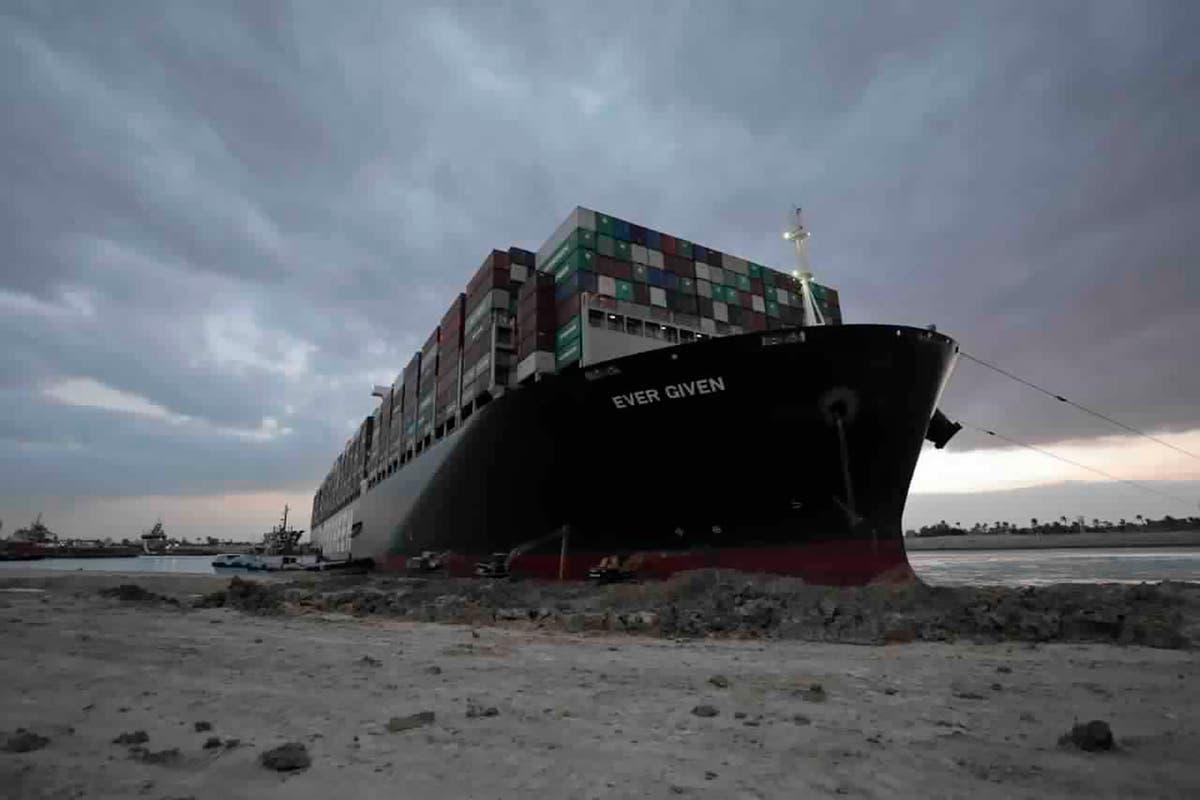 Egypt: Suez Canal ship case adjourned for settlement talks