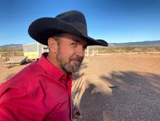 Trump cowboy seeks 2nd act in politics after Capitol breach