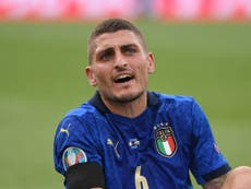 Marco Verratti's majestic return boosts Italy chances ahead of Euro 2020 knock-out stages