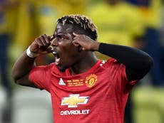 Paul Pogba offered Manchester United contract extension as Arsenal target Andre Silva