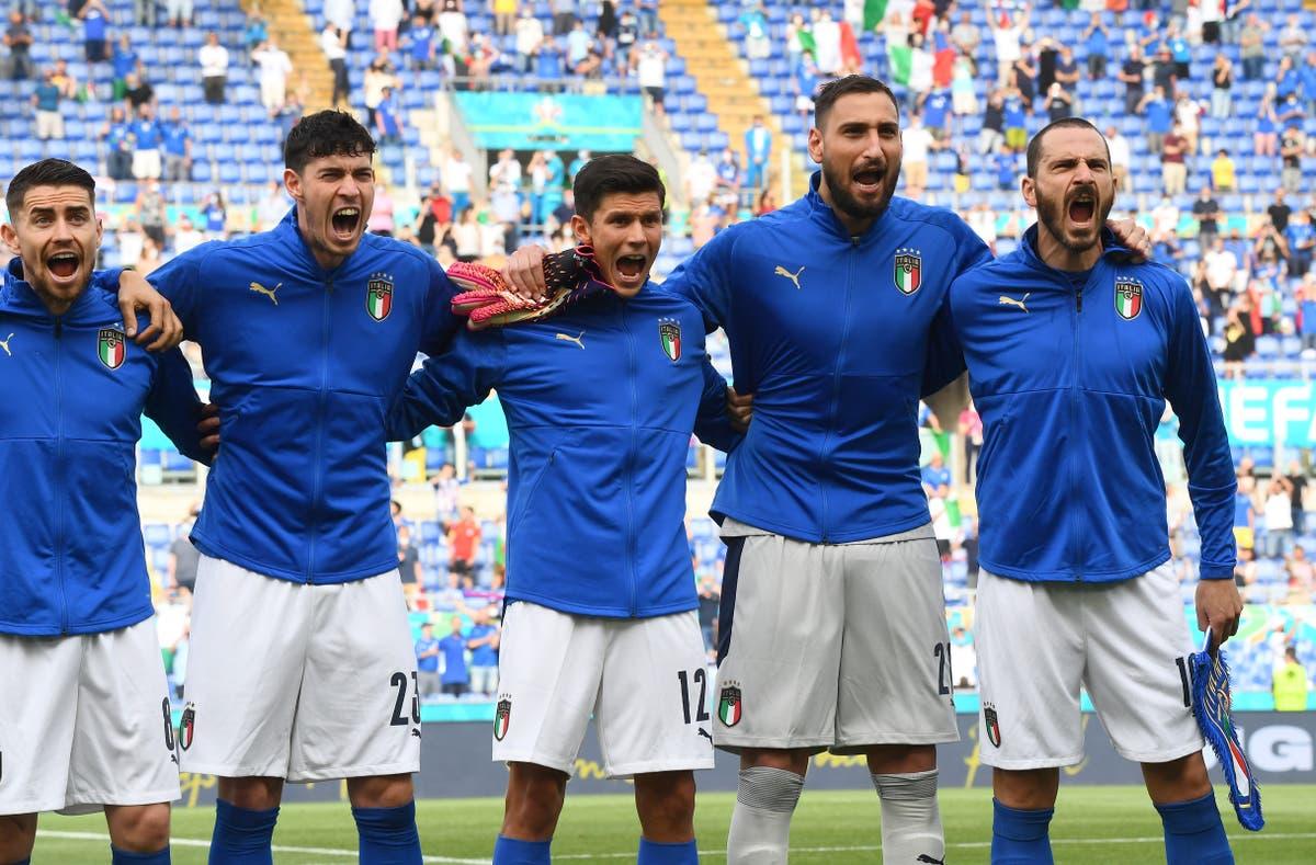 Electric Italy invigorate Euro 2020 to become team of the tournament so far