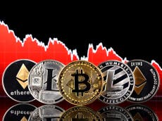 Bitcoin price - Live: Crypto market faces 'moment of truth' as end to pattern nears