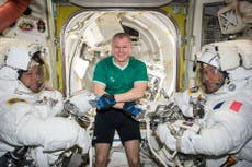 Astronauts aboard ISS complete 6-hour spacewalk to install new solar panels
