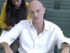 Rishi Sunak shared concern over Boris Johnson's handling of Covid, claims Dominic Cummings
