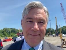 Democrat senator refuses to leave all-white private beach club despite championing racial justice
