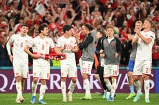 Kasper Hjulmand pays tribute to Denmark side's spirit following defeat of Russia
