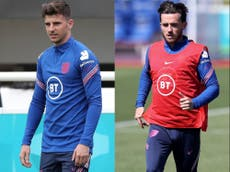 Euro 2020: Mason Mount and Ben Chilwell 'gutted' to be ruled out of England action