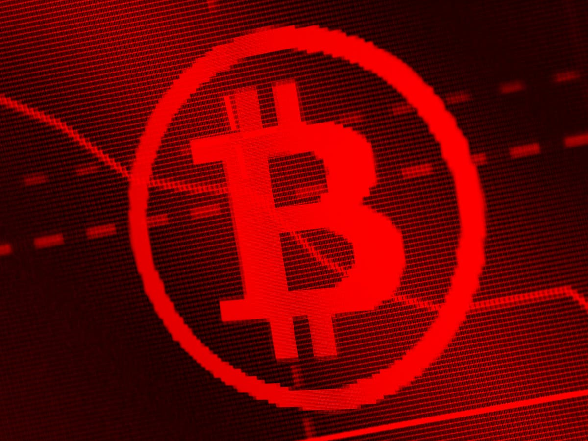 Bitcoin price suddenly collapses