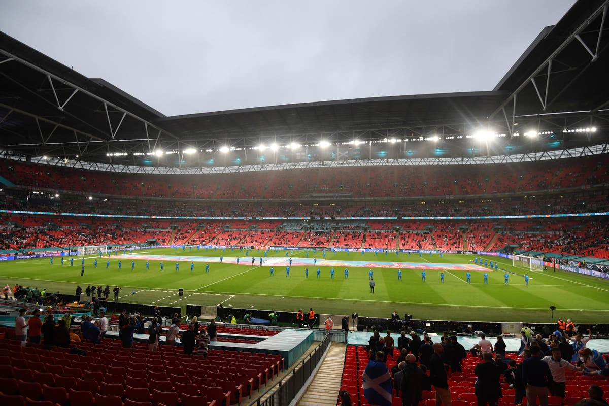 More than 60,000 fans allowed at Wembley for Euros semi-finals and final