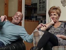 Gogglebox couple Dave and Shirley warm fans' hearts with surprise photo alongside grandson