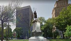 ニュージャージー州のクリストファーコロンブスに代わるハリエットタブマン像