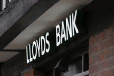 44 Lloyds Bank and Halifax branches to close