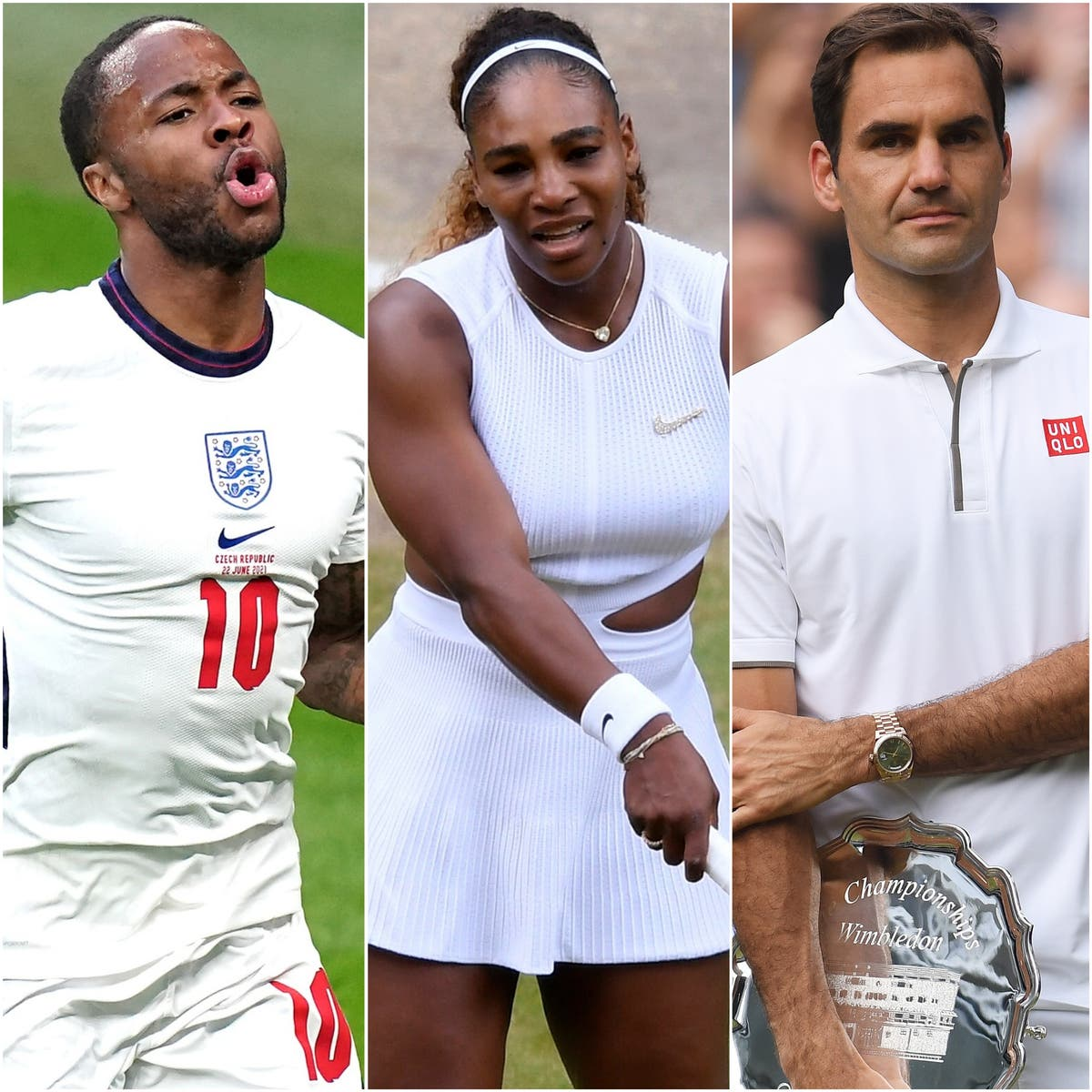 Sterling's shock and big names return to SW19 – Wednesday's sporting social