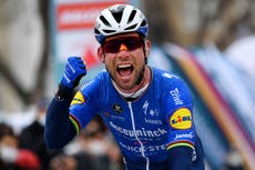Mark Cavendish feels no pressure after his late call-up for the Tour de France
