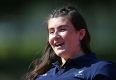 Hollie Arnold is more worried by Paralympics than being showered with fish guts