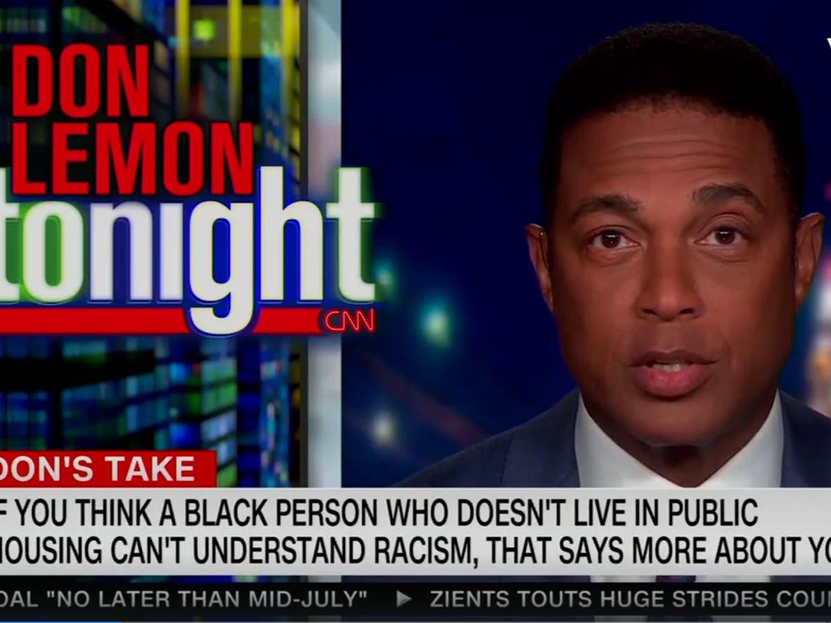 Don Lemon responds to 'successful victim' Tucker Carlson rant