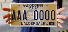 Atheists, humanists sue over Mississippi's license plates