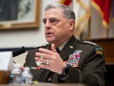 Trump says US generals more focused on being 'woke' than 'fighting enemies'
